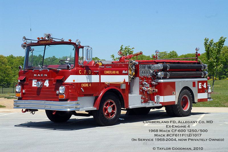 Federal City Fire | 1968 Mack CF-600 Semi-Open Cab