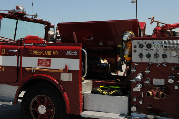 Federal City Fire 1968 Mack Cf 600 Semi Open Cab